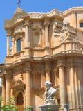 西西里岛noto siracusa 免版税库存图片