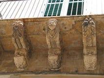 西西里岛noto siracusa 免版税库存照片