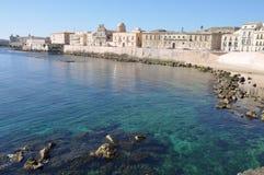 西西里岛siracusa 库存照片