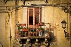 西西里岛siracusa 免版税库存图片