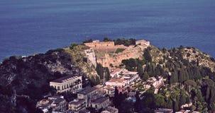 西西里岛taormina 图库摄影
