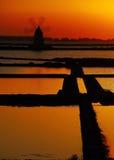 西西里岛trapani 库存图片