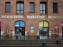 默西赛德郡海博物馆在利物浦 库存图片