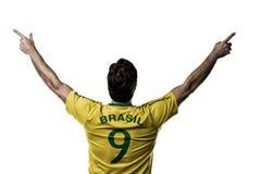 巴西足球运动员 免版税库存图片