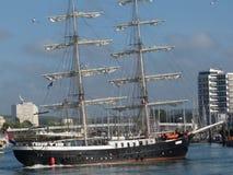 默西迪丝双桅船 免版税库存照片