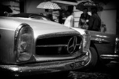 默西迪丝葡萄酒Mille Miglia 2016年 免版税库存图片
