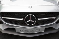 默西迪丝AMG GT S DTM 库存图片
