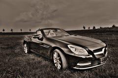 默西迪丝SLK 200 Cabrio 免版税库存图片