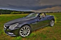 默西迪丝SLK 200 Cabrio 免版税图库摄影