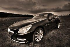 默西迪丝SLK 200 Cabrio 免版税库存照片