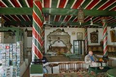 西迪布赛义德咖啡馆 库存照片