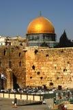 西部以色列耶路撒冷的墙壁 免版税库存照片