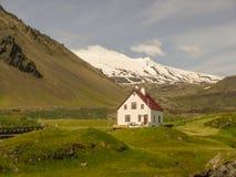 西部冰岛半岛 免版税库存照片