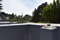 西部堡垒Miley遗骸被美化在街道画, 19下 库存照片