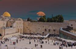 西部墙壁在耶路撒冷,以色列 库存图片