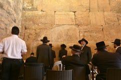 西部墙壁在耶路撒冷以色列 库存图片