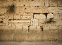 西部墙壁 免版税库存照片