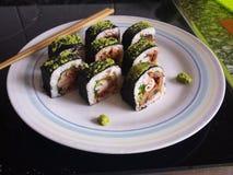 西部寿司 免版税库存照片