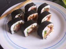 西部寿司 库存图片