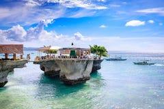西部小海湾手段在2017年11月18日的博拉凯海岛在菲利普 免版税库存照片