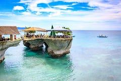 西部小海湾手段在2017年11月18日的博拉凯海岛在菲利普 免版税图库摄影