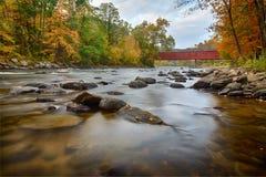 西部康沃尔郡桥梁 免版税库存照片