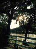 西部得克萨斯小河 免版税库存图片