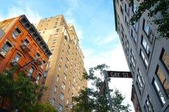 西部村庄, NYC,美国 免版税库存图片