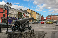 西部正方形 Macroom 爱尔兰 免版税图库摄影