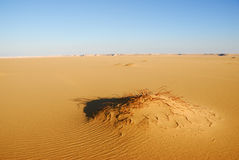 西部沙漠,撒哈拉大沙漠,埃及 库存图片