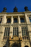 西部波希米亚的博物馆在Pilsen,老建筑学, Pilsen,捷克 免版税库存照片