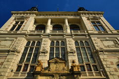 西部波希米亚的博物馆在Pilsen,老建筑学, Pilsen,捷克 库存图片
