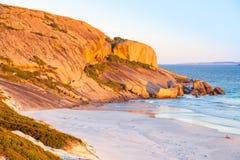 西部海滩 免版税图库摄影