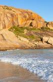 西部海滩 库存图片