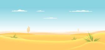 西部深的沙漠 库存照片