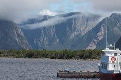 西部溪池塘,纽芬兰 免版税库存图片