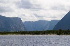 西部溪的池塘 免版税图库摄影