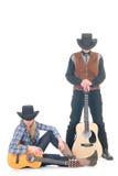 西部的乡村歌手 免版税库存图片