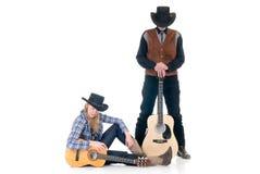 西部的乡村歌手 库存图片