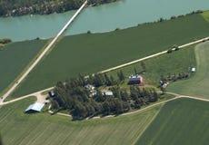 西部的农场美国 免版税图库摄影