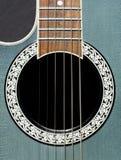 西部的吉他 免版税库存图片