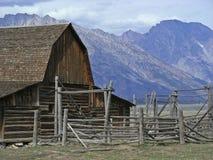 西部的大农场 免版税图库摄影