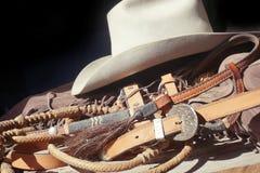 西部的帽子 免版税库存图片