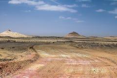 西部的撒哈拉大沙漠 免版税库存图片