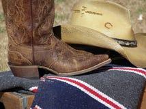 西部的穿戴 免版税库存照片