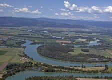 西部的蒙大拿农村美国 免版税库存照片