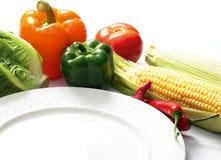 西部的食物 免版税库存照片