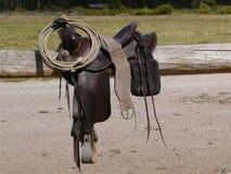 西部的马鞍 库存图片