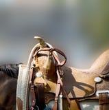 西部的马鞍 图库摄影