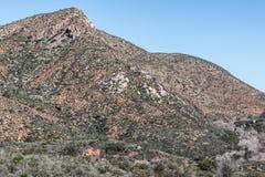 西部福尔图纳山在圣地亚哥 免版税库存图片